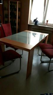 Glas Tisch mit
