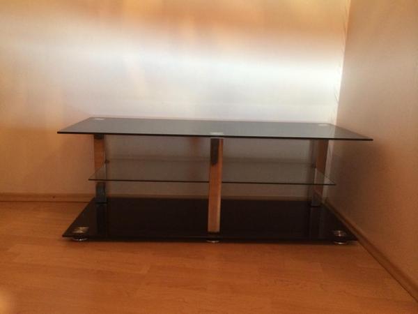 glas tv tisch in karlsruhe phono tv videom bel. Black Bedroom Furniture Sets. Home Design Ideas