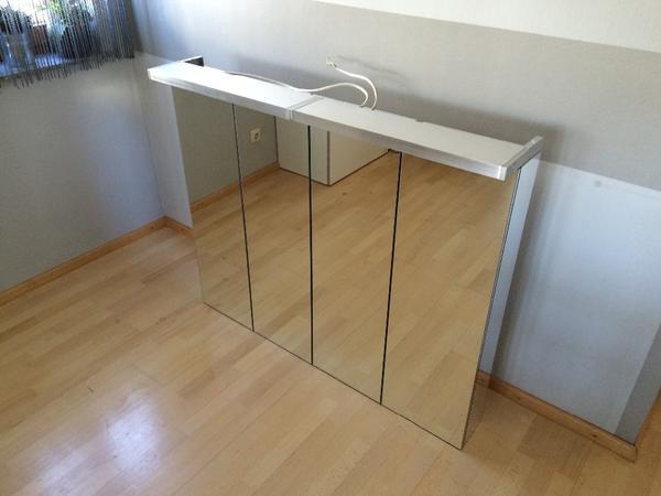 spiegelschrank 120 kaufen gebraucht und g nstig. Black Bedroom Furniture Sets. Home Design Ideas
