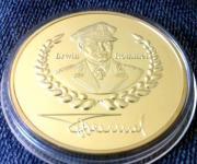 Goldmedaille Erwin Rommel -