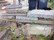 Granit Stele, Palisade,