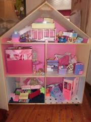 barbie haus in bad rappenau kinder baby spielzeug g nstige angebote finden. Black Bedroom Furniture Sets. Home Design Ideas