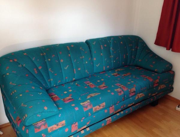 grosses schlafsofa inkl sessel in feldkirch polster sessel couch kaufen und verkaufen ber. Black Bedroom Furniture Sets. Home Design Ideas