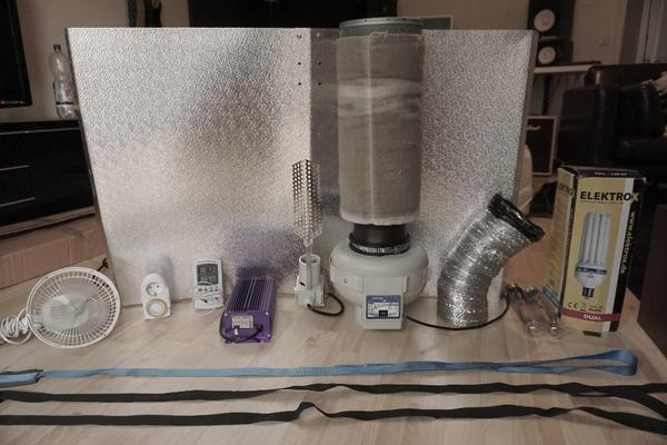 growzelt xxl 200 x120x120 cm mit allem zubeh r in freiburg sonstiges zubeh r kaufen und. Black Bedroom Furniture Sets. Home Design Ideas