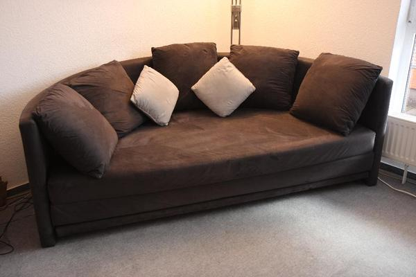 Halbrundes sofa schlaffunktion runde liegefl che blau for Kleines rundes sofa