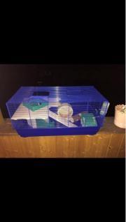 Hamster Käfig voll