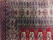 handgeknüpfter seiden teppich