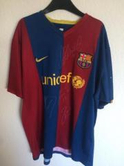 Handsigniertes Barcelona Trikot