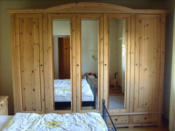 Haushaltsauflösung Landscape Schlafzimmer Kiefer massiv natur ...
