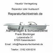 Haustür Schloß & Verriegelung