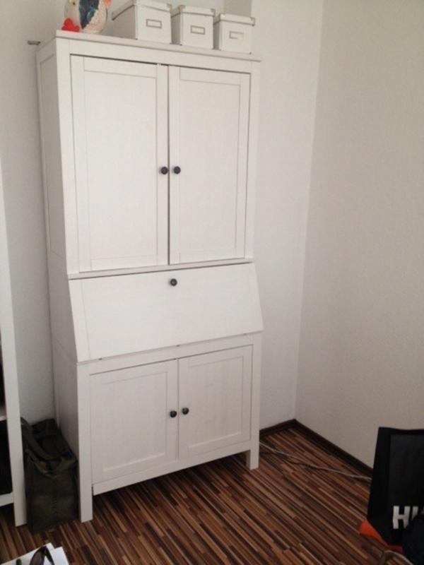 hemnes sekret r mit aufbauschrank in mannheim ikea m bel. Black Bedroom Furniture Sets. Home Design Ideas