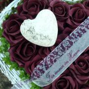 Herz Trauer Blumen
