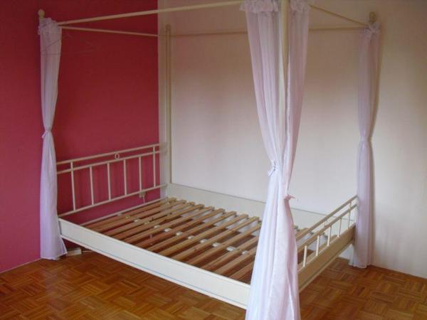 ikea metallbett neu und gebraucht kaufen bei. Black Bedroom Furniture Sets. Home Design Ideas