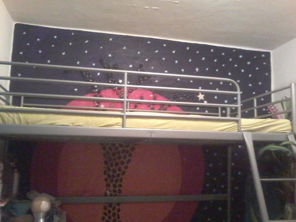 hochbett aus metall in dornbirn betten kaufen und. Black Bedroom Furniture Sets. Home Design Ideas