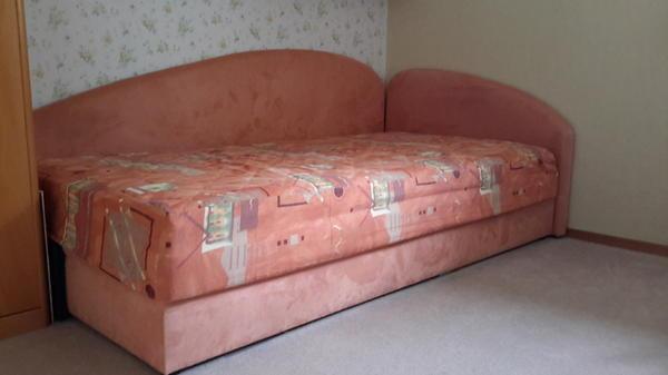 hochwertige schlafcouch in aschheim betten kaufen und verkaufen ber private kleinanzeigen. Black Bedroom Furniture Sets. Home Design Ideas