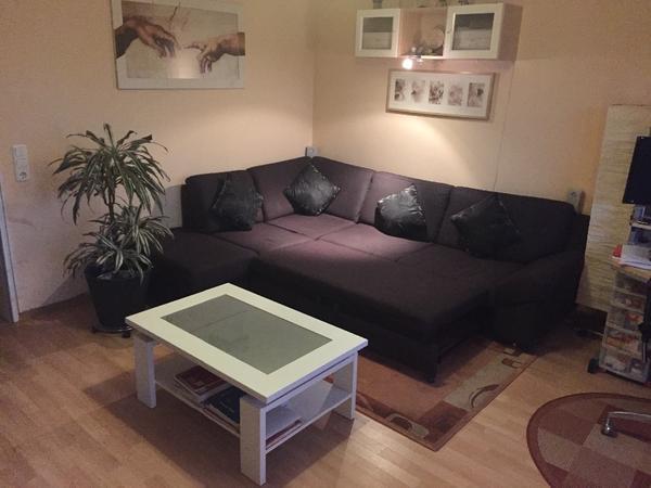 hochwertige wohnzimmer einrichtung inkl tv m bel. Black Bedroom Furniture Sets. Home Design Ideas