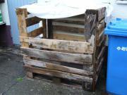 Holzbox zu verschenken
