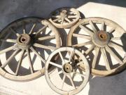 Holzwagenräder original