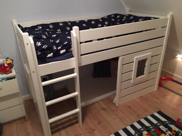 h ttenbett hochbett beach kinderbett kinder bett wei. Black Bedroom Furniture Sets. Home Design Ideas
