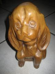 Hund, echte, geschnitzte Holzfigur Verkaufe eine sehr schöne, geschnitzte Holzfigur, ein Hund; Höhe ca. 20 cm; wie abgebildet; nicht kostenlos aber für nur 15 Euro! Bitte nur Anrufe ... 15,- D-67134Birkenheide Feuerberg Heute, 13:02 Uhr, Birkenheide Feuer - Hund, echte, geschnitzte Holzfigur Verkaufe eine sehr schöne, geschnitzte Holzfigur, ein Hund; Höhe ca. 20 cm; wie abgebildet; nicht kostenlos aber für nur 15 Euro! Bitte nur Anrufe