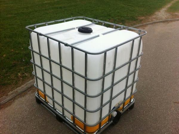 ibc container wassertank 1000 liter regenfass in pforzheim. Black Bedroom Furniture Sets. Home Design Ideas