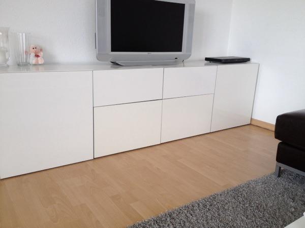 sideboard wei hochglanz ikea kreatives haus design. Black Bedroom Furniture Sets. Home Design Ideas