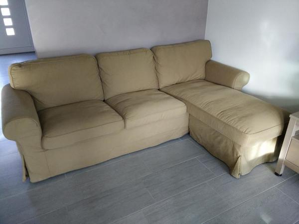 ikea ektorp 2er sofa und r camiere beige gute zustand. Black Bedroom Furniture Sets. Home Design Ideas