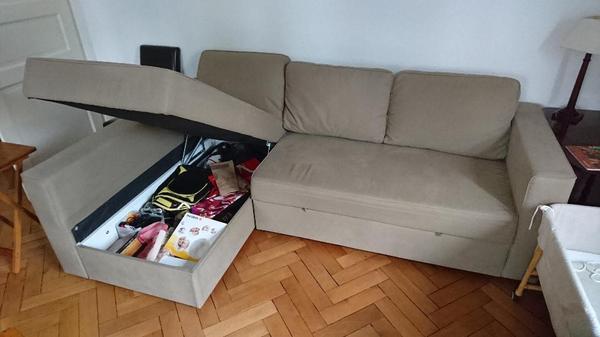 ikea kivik 2 er sofa und recami re in mannheim polster. Black Bedroom Furniture Sets. Home Design Ideas