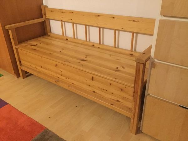 vollholz kiefer b x h x t 163 x 84 x 54cm sitzh he 46 cm nur an selbstabholer. Black Bedroom Furniture Sets. Home Design Ideas