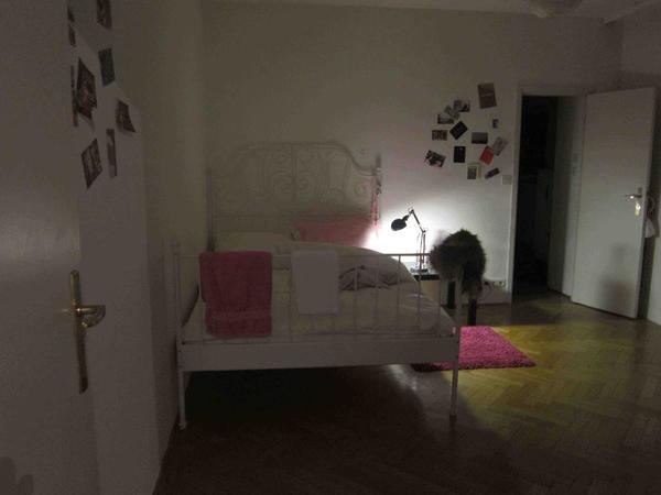 ikea bett leirvik 140x200 kaufen gebraucht und g nstig. Black Bedroom Furniture Sets. Home Design Ideas