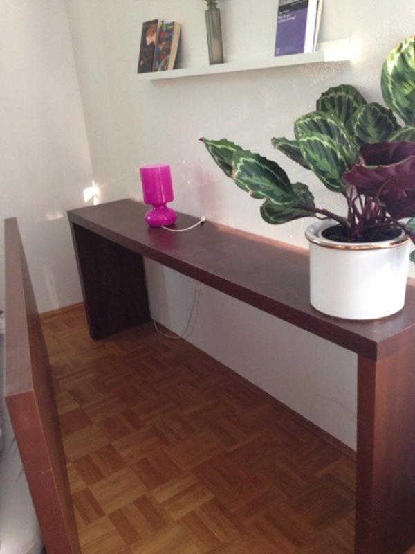ikea malm rolltisch dunkelbraun 190x74x36 in krailling ikea m bel kaufen und verkaufen ber. Black Bedroom Furniture Sets. Home Design Ideas