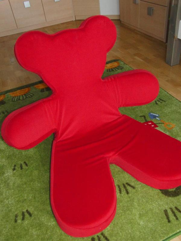 IKEA Sitzbär Brum in rot Sessel + Liege in Karlsruhe   IKEA Möbel