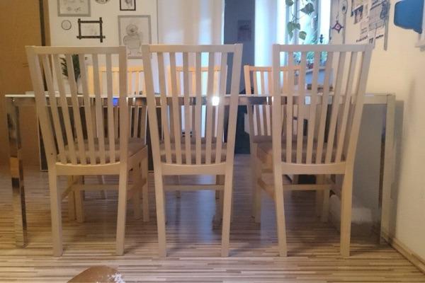 ikea tisch und st hle in kaiserslautern ikea m bel kaufen und verkaufen ber private kleinanzeigen. Black Bedroom Furniture Sets. Home Design Ideas