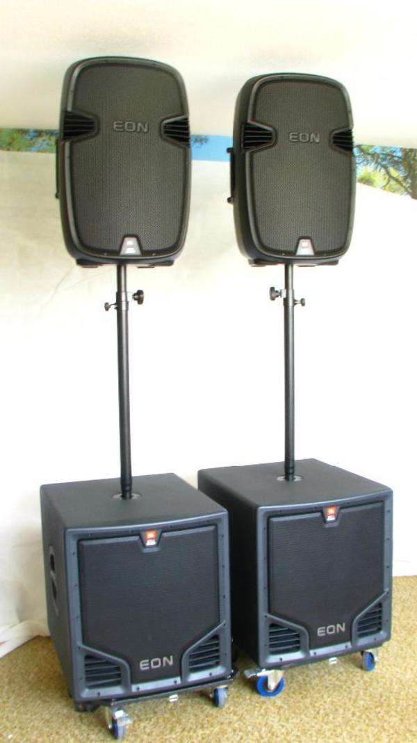 jbl eon aktiv kaufen gebraucht und g nstig. Black Bedroom Furniture Sets. Home Design Ideas