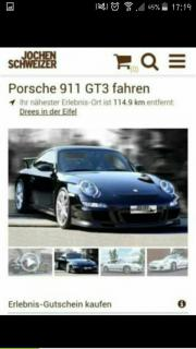 Jochen Schweizer Porsche