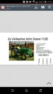 John Deere 1120