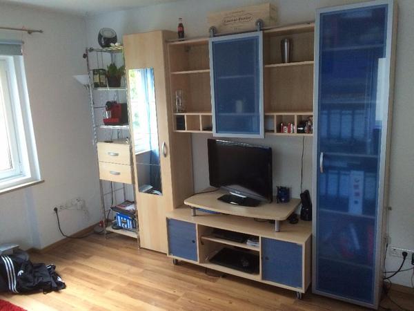 jugendzimmer ahorn blau kinderzimmer in m nchen kinder jugendzimmer kaufen und verkaufen. Black Bedroom Furniture Sets. Home Design Ideas