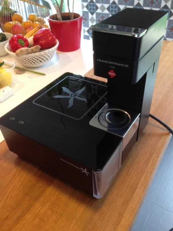 kaffeemaschine francisfrancis illy in mannheim kaffee espressomaschinen kaufen und verkaufen. Black Bedroom Furniture Sets. Home Design Ideas