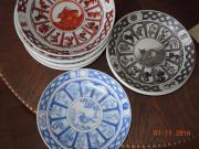 Keramikteller zum Anhängen