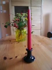 Kerzenständer schwarz