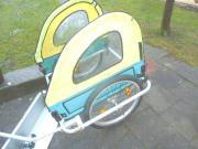 Kinder Fahrrad Anhänger -