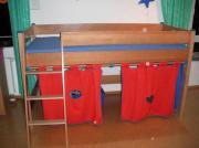Kinderzimmer Massivholz - mit