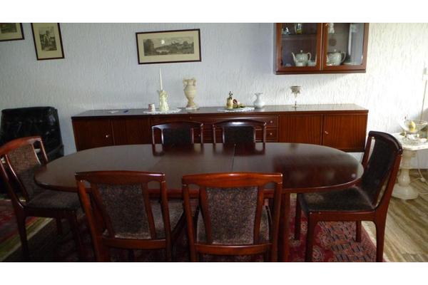 Komplettes esszimmer mahagoni in m nchengladbach speisezimmer essecken kaufen und verkaufen - Komplettes esszimmer ...