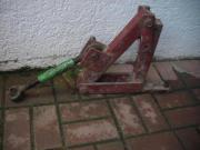 Krieger Traktor Steilaushebung
