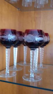 Kristall - Weinglas - Römer -