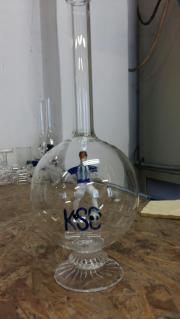 KSC Glas-Geschenk