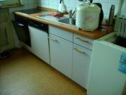 Küche mit Elektrogeräten,