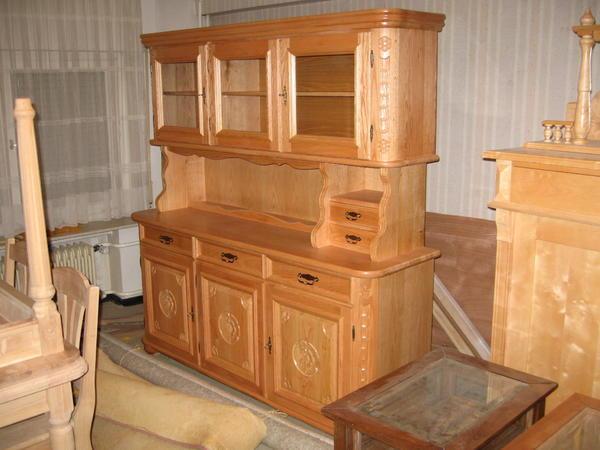 k chen buffet aus massivholz rot eiche in aschaffenburg k chenm bel schr nke kaufen und. Black Bedroom Furniture Sets. Home Design Ideas