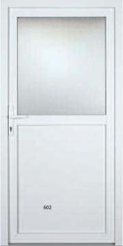 Kunststoff / Aluminium Türen