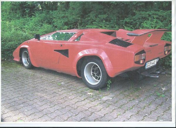 lamborghini countach replika zu verkaufen lamborghini countach replica mirage for sale. Black Bedroom Furniture Sets. Home Design Ideas